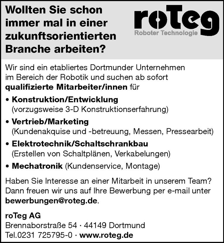 Mitarbeiter (m/w) Vertrieb/Marketing