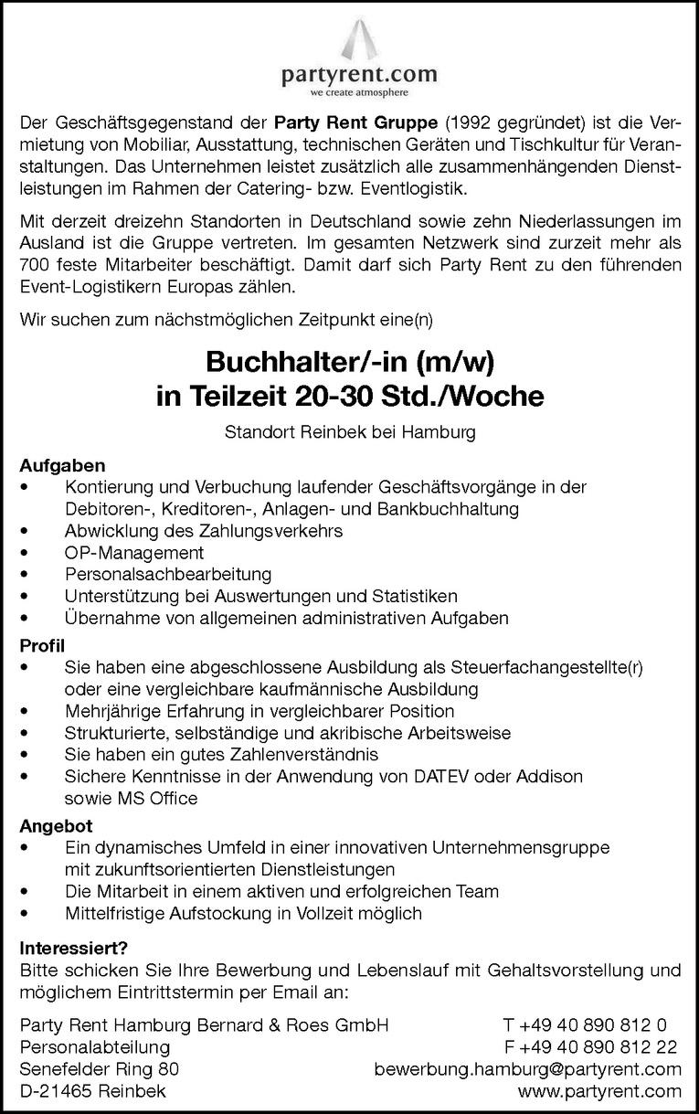 Nett Vollbeschäftigung Buchhalter Jobbeschreibung Für Den Lebenslauf ...