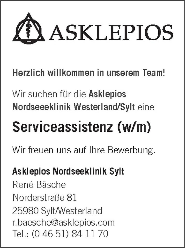 Serviceassistenz (w/m)
