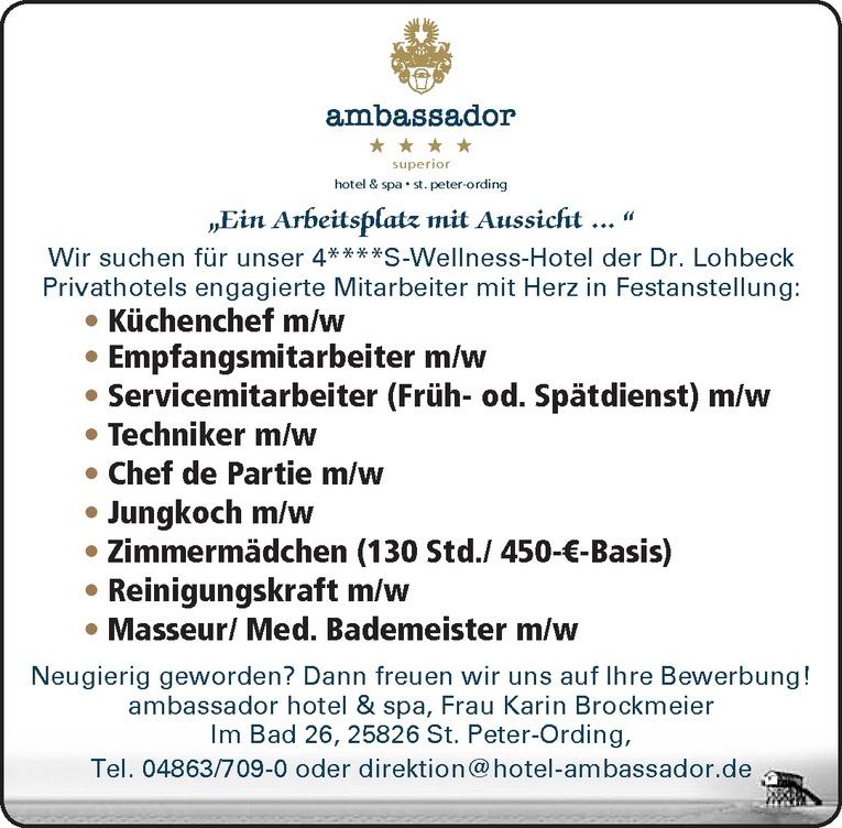 Masseur/ Med. Bademeister m/w