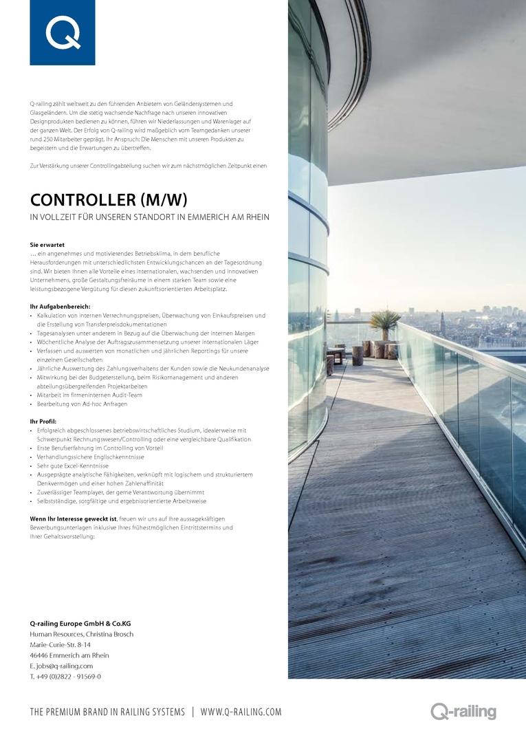 Controller (m/w)