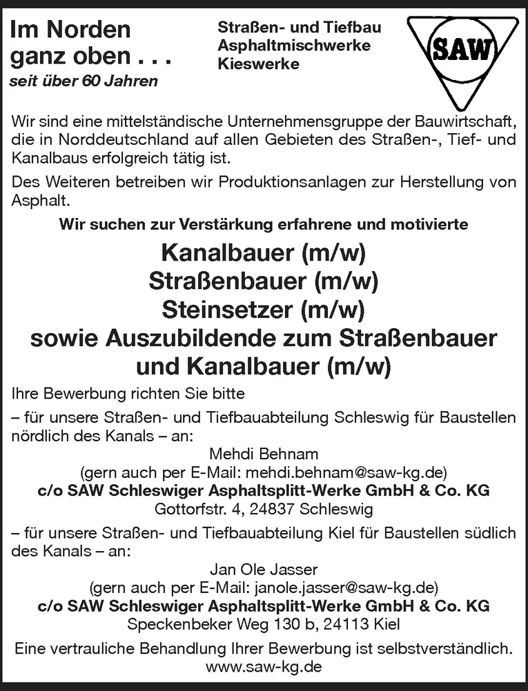 Kanalbauer (m/w)