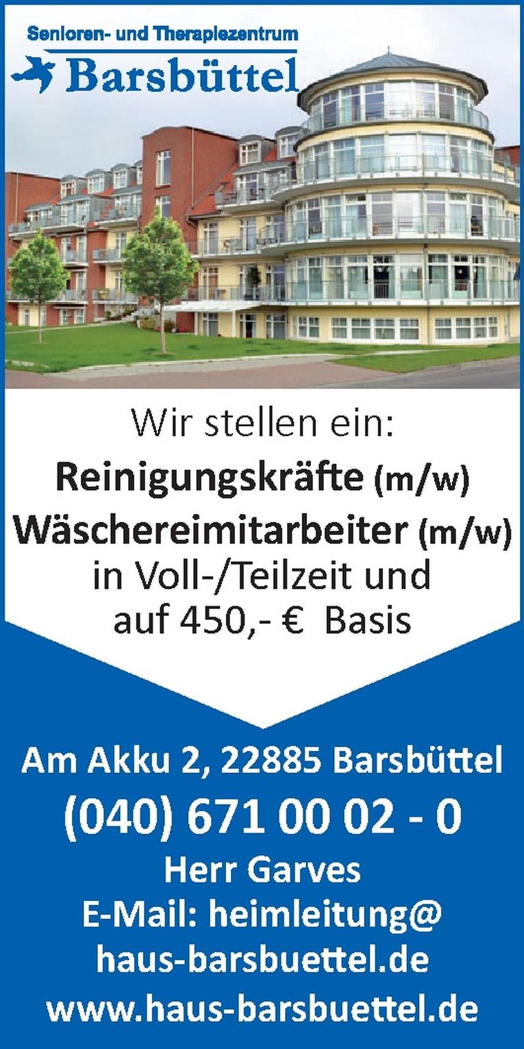 Wäschereimitarbeiter (m/w)