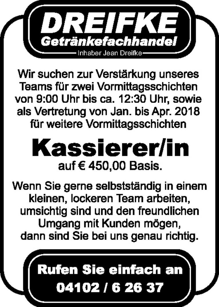 Kassierer/in