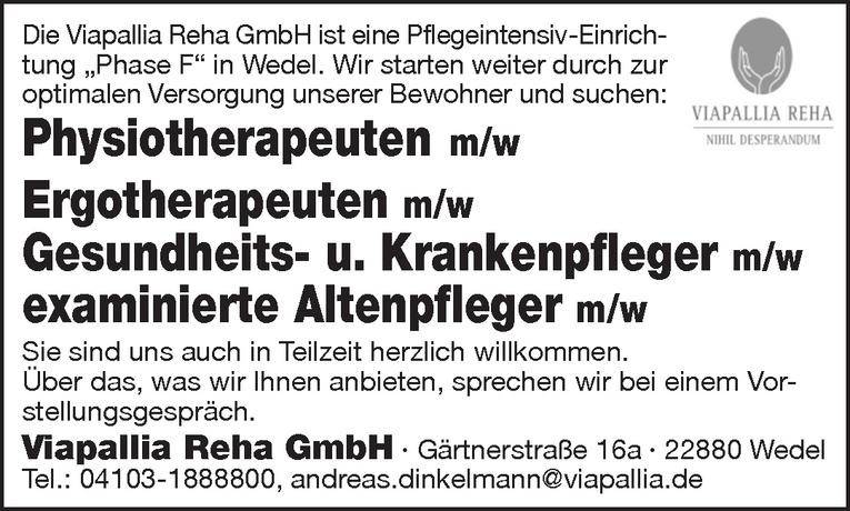 examinierte Altenpfleger m/w
