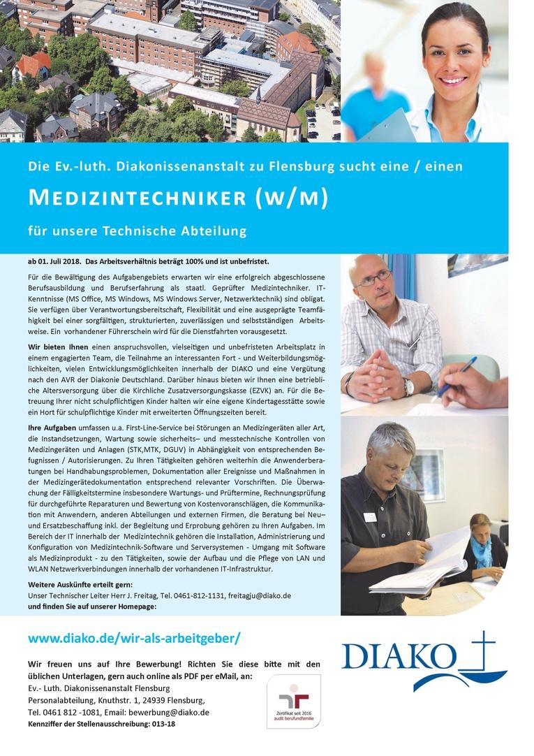 Medizintechniker (w/m)