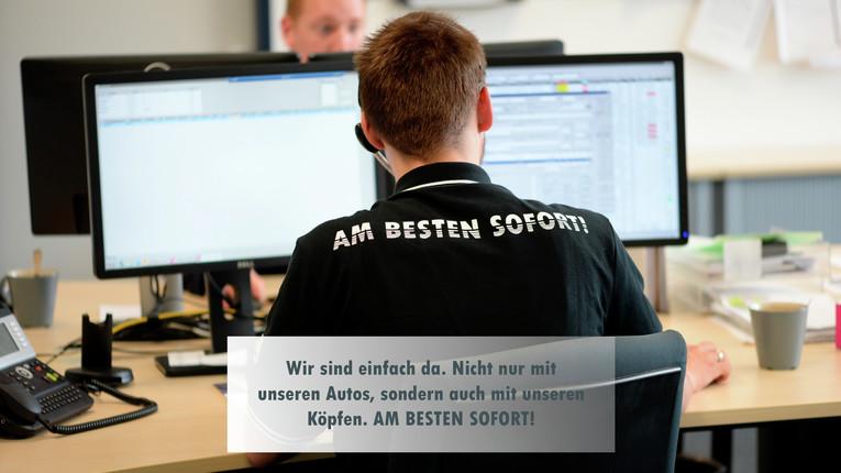 Spezialist (m/w) im zentraler Kundenservice