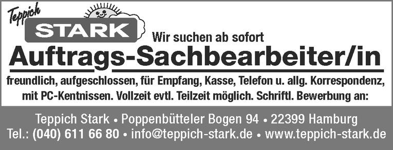 Auftrags-Sachbearbeiter/in