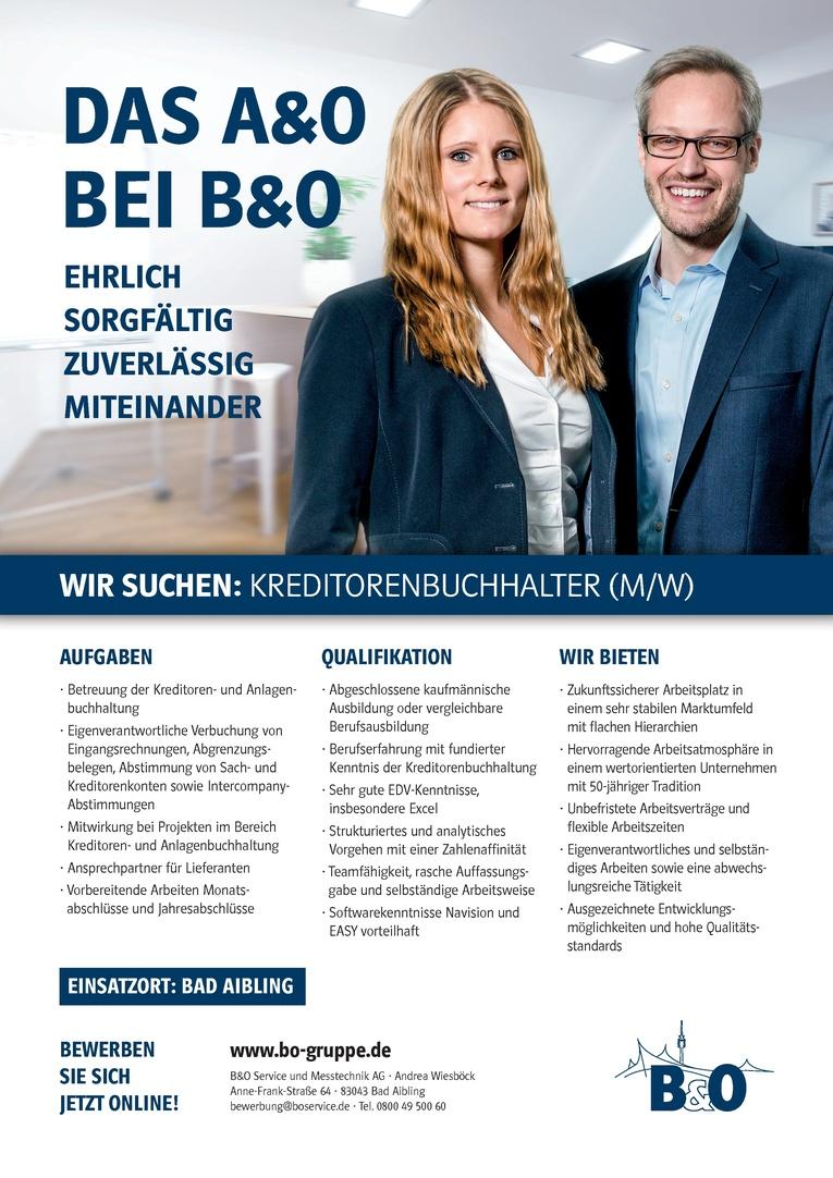 Kreditorenbuchhalter (m/w)